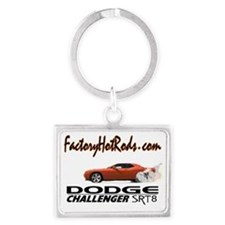 Factory Hot Rods Dodge Challeng Landscape Keychain