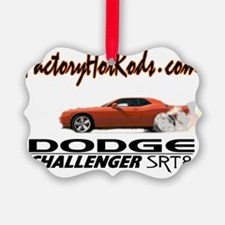 Factory Hot Rods Dodge Challenger Picture Ornament