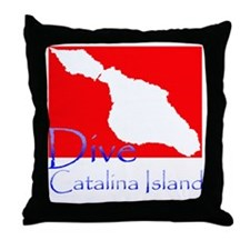 Dive CI 1.gif Throw Pillow