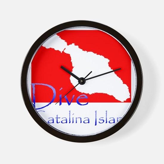Dive CI 1.gif Wall Clock