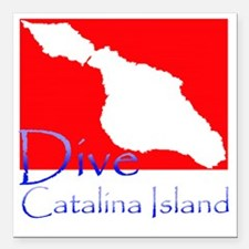 "Dive CI 1.gif Square Car Magnet 3"" x 3"""