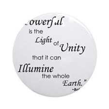 So Powerful is the Light of Unity Round Ornament
