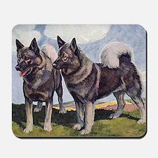 FIN-norwegian-elkhound-CROP Mousepad