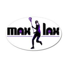 2-max_lax_purple Wall Decal