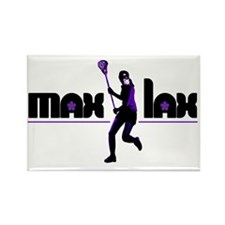 2-max_lax_purple Rectangle Magnet