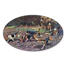 Beagle Painting Decal