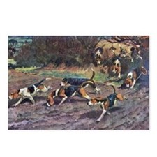 Beagle Painting Postcards (Package of 8)
