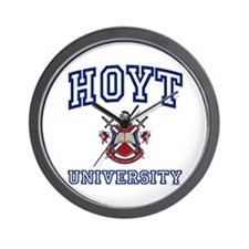 HOYT University Wall Clock