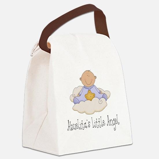 abuelitas angel boy Canvas Lunch Bag