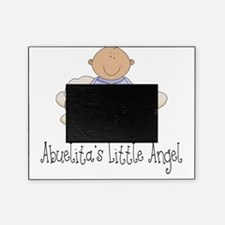 abuelitas angel boy Picture Frame