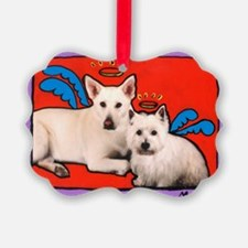 Angel Dogs Ornament