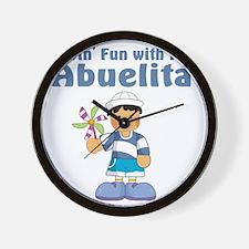fun with abuelita Wall Clock