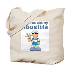 fun with abuelita Tote Bag