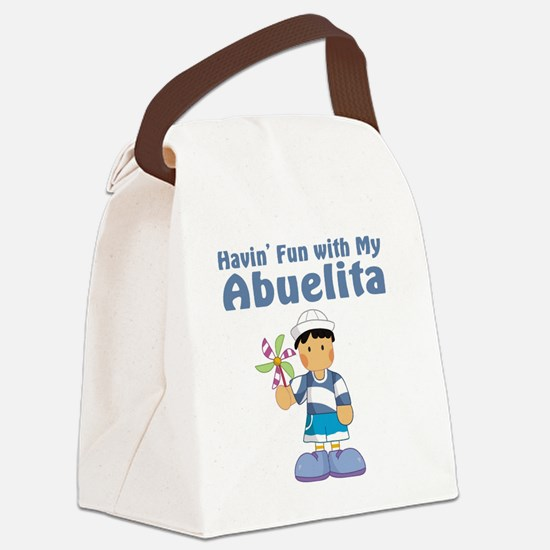 fun with abuelita Canvas Lunch Bag