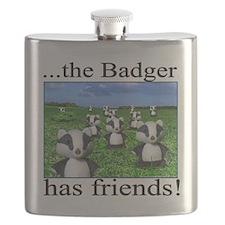 2-badger has friends Flask