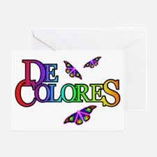 DeColores with Butterflies Greeting Card