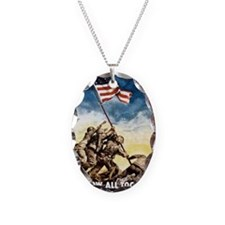 Iwo-Jima-War-Bonds Necklace