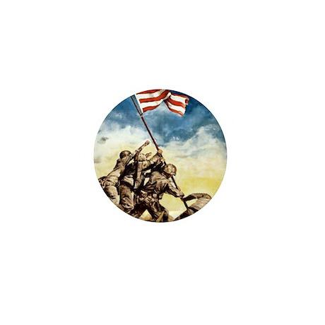 Iwo-Jima-War-Bonds Mini Button