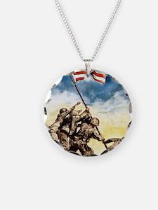 Iwo-Jima-War-Bonds Necklace