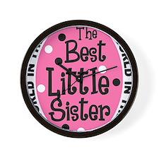 little sis all Wall Clock