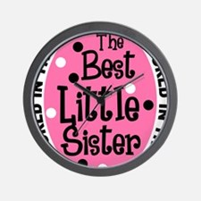 little sis all Wall Clock
