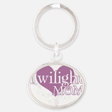 twilightmom Oval Keychain
