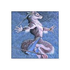 """wolfdanceMS Square Sticker 3"""" x 3"""""""