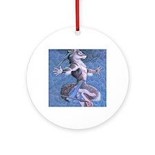 wolfdanceMS Round Ornament