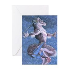 wolfdanceMS Greeting Card