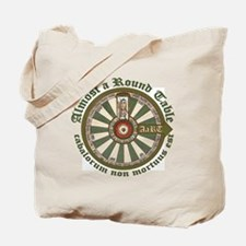 2-AaRT round table logo Tote Bag