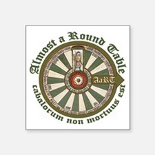 """2-AaRT round table logo Square Sticker 3"""" x 3"""""""