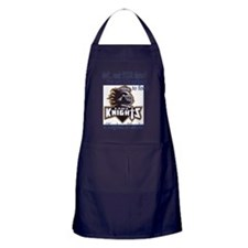 lady knight lg Apron (dark)