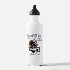 lady knight lg Water Bottle