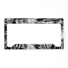 musicsilver B-W License Plate Holder