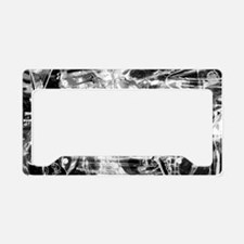 musicsilver B-W License Plate Holder
