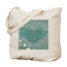 butterfly love mouse pad Tote Bag