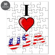 I-Love-USA Puzzle