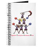 Cheerleader Journals & Spiral Notebooks