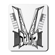drag rig Mousepad
