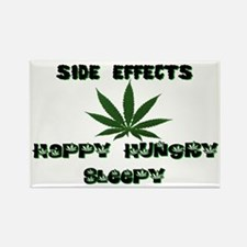 SIDE EFFECTS OF WEED Rectangle Magnet