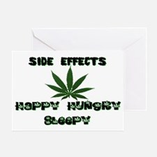 SIDE EFFECTS OF WEED Greeting Card
