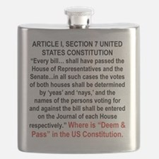 2-DEEM AND PASS NOT IN THE CONSTITUTION Flask