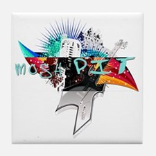 mosh pit2 Tile Coaster