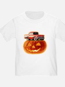 BabyAmericanMuscleCar_57BelR_Halloween02 T-Shirt