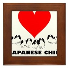 Japanese Chin Framed Tile