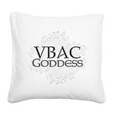 vbac_design Square Canvas Pillow