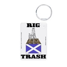 Scot Rig Trash 2a BC use A Aluminum Photo Keychain