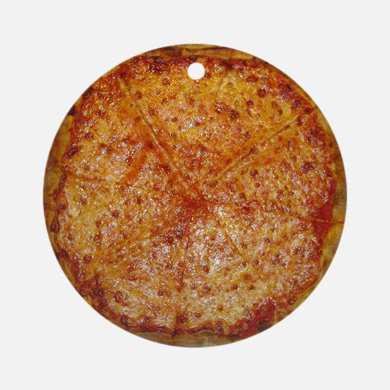 Large Pizza Round Ornament
