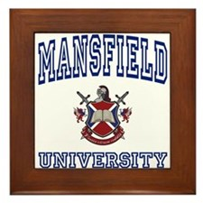 MANSFIELD University Framed Tile