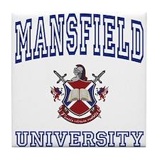 MANSFIELD University Tile Coaster